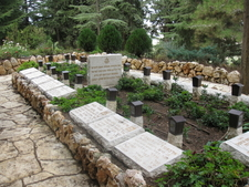 The Memorial Garden Of The Missing Soldiers Of Israeli Army