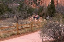 Garden Of The Gods Walkway - Colorado Springs CO