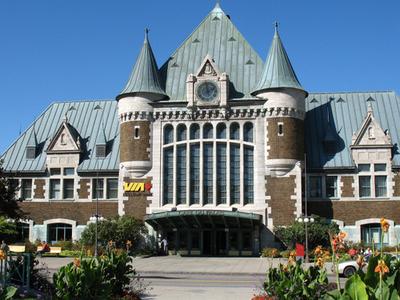 Gare Du Palais Quebec