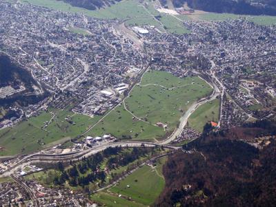 Garmisch Partenkirchen  Luftbild