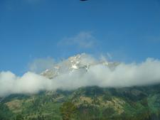 Garnet Canyon Clouds - Grand Tetons - Wyoming - USA