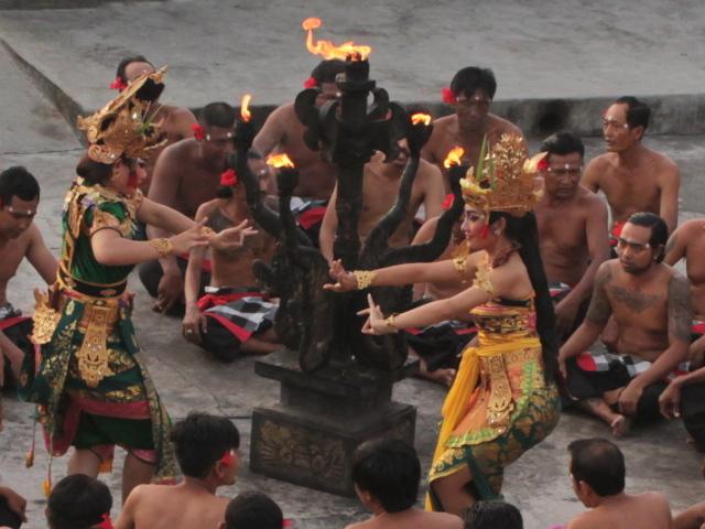 Uluwatu Sunset With Kecak & Fire Dance - Indonesia Photos