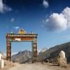 Gates To Ki Monastery - Spiti Valley