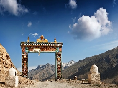 Gates To Ki Monastery - Spiti Valley
