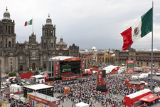 Gathering At Zocalo Square - Mexico City