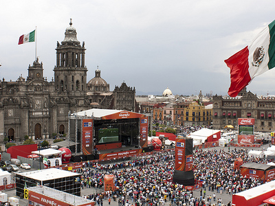 Gathering At Zocalo Square - Mexico City