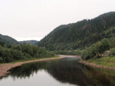 Gaula River At Kotsøy