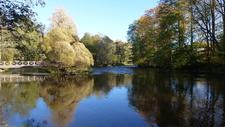 Gävle Park With River Gavleån