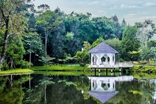Gazebo At Sibolangit Resort In Medan