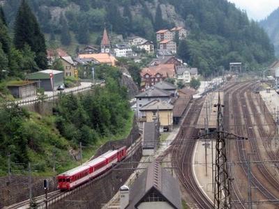 Goeschenen Railway Station