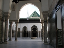 Interior View Of Great Mosque Of Paris