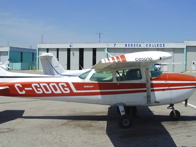 One Of 30 Training Aircraft Belonging To The Flight School