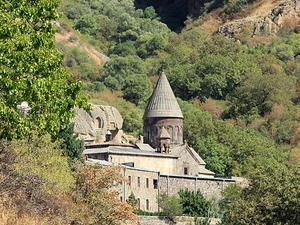 Garni Temple and Geghard Monastery Photos