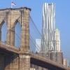 Gehry 8 Spruce Street From Brooklyn Bridge