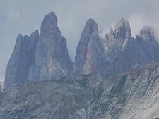 Geisler Group From East - Dolomites
