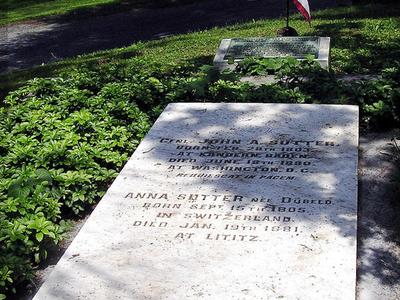 General Sutter Grave