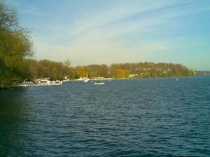 El lago de Ginebra