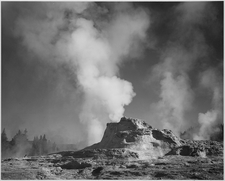 GenGeyser-1 For Chimney Cone - Yellowstone - USA