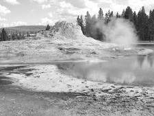 GenGeyser-5 For North Triplet Geyser - Yellowstone - USA