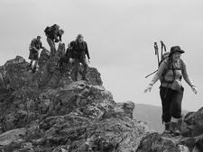 Gen Hiking For Cook Peak - Yellowstone - USA