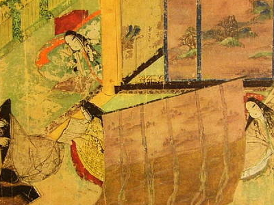 Handscroll Of The Tale Of Genji