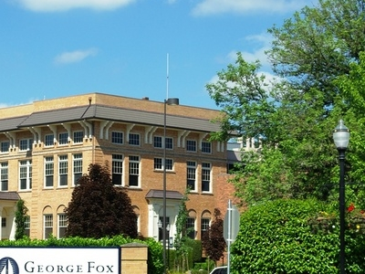 George  Fox  University Entrance Sign