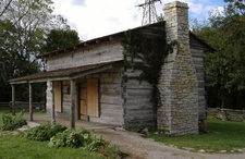 George Rogers Clark Cabin Reproduction At Clarksville 2 C C