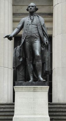 J.Q.A. Ward's Statue