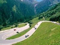 Gerlos Alpenstrasse Road