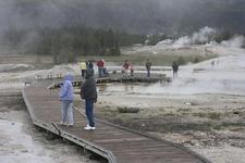 Geyser Hill Loop Trail - Yellowstone - USA
