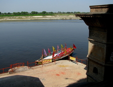 Ghat At Yamuna River