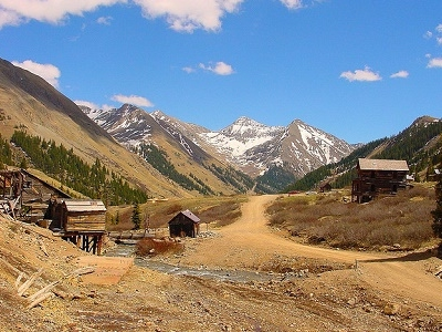 Ghost Town Of The West At Silverton CO