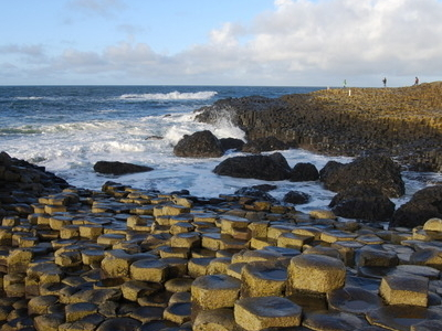 Giant's Causeway During Sunset