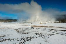Giantess Geyser - Yellowstone - USA