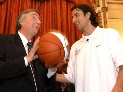 Ginobili Y  Kirchner   1jul 0 5  Presidencia  Govar