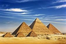 Giza Pyramid Complex Near Cairo