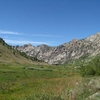 Glaciated Lamoille Canyon
