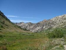 Glaciated Lamoille Canyon