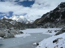 Glacier Between Gokyo & Dragnag - Nepal
