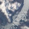 The Merged Outlet Of Penguin Glacier