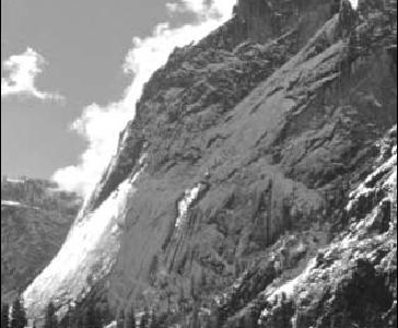 Glacier Point, As Seen From Yosemite Valley