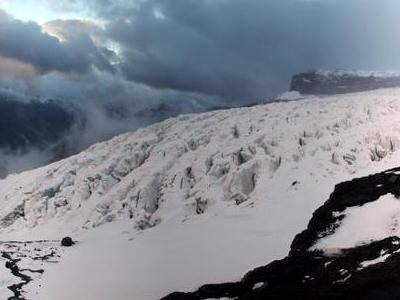 Castano Overa Glacier