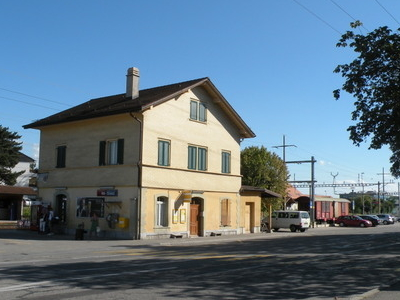 Gland Train Station