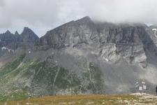 Glarus Thrust Fault At Piz Segnes