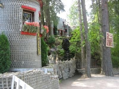 Glass House Entrance