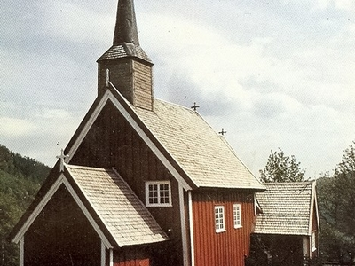 The Old Gløshaug Church