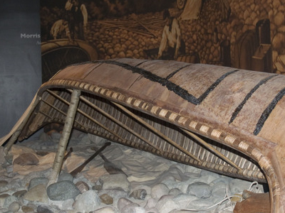 An Aboriginal Canoe