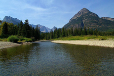 Goat Haunt - Glacier - Montana - USA