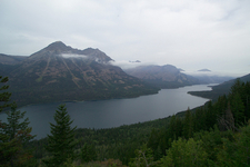 Goat Haunt Overlook Northside - Glacier - Montana - USA
