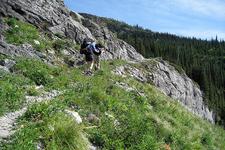 Goat Haunt Overlook Trail At Glacier - Montana - USA